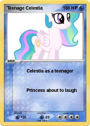 Princess celestia as a teenager