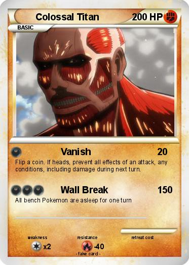 Pokemon Colossal Titan