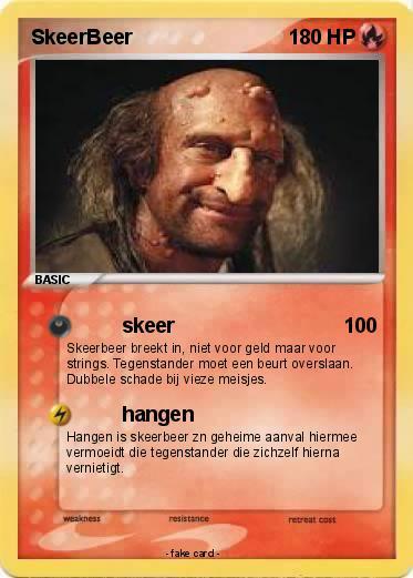 Pok mon skeerbeer skeer my pokemon card - Mypokecard com ...