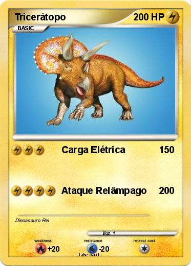 Pokemon Triceratopo 1