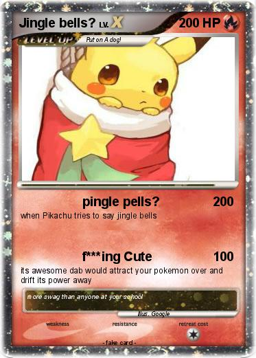 Pokémon Jingle bells 1 1 - pingle pells? - My Pokemon Card