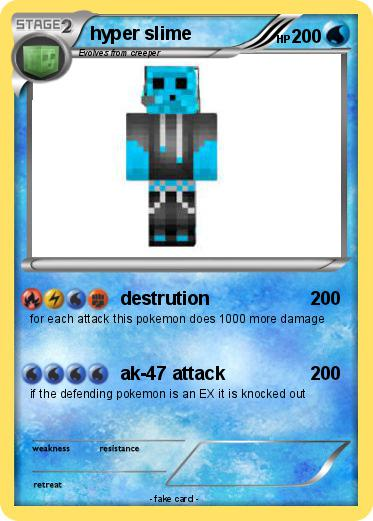 Pokémon hyper slime - destrution - My Pokemon Card