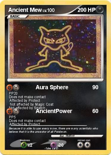 Pokémon Ancient M...