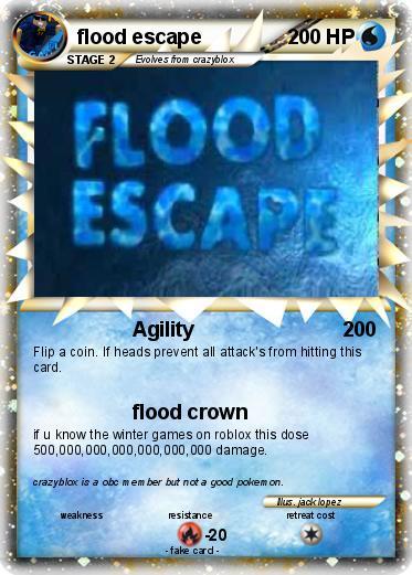 Pokemon Flood Escape