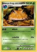 Amazon frog