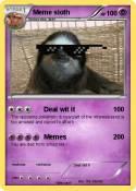 Meme sloth