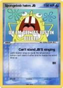 Spongebob hates