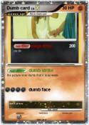 Dumb card