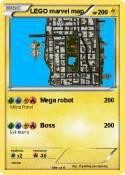 LEGO marvel map