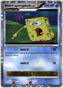 Weird spongebob
