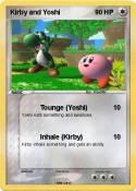 Kirby and Yoshi