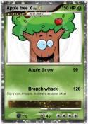 Apple tree X