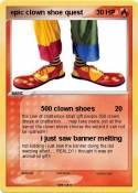 epic clown shoe