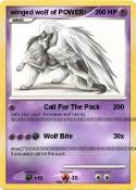 winged wolf of