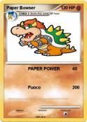 Paper Bowser
