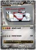Audi R8 lm race
