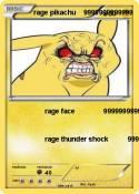 rage pikachu