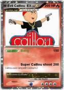 M Evil Caillou