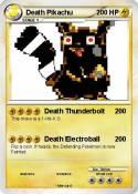 Death Pikachu