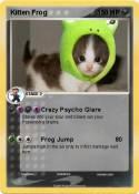 Kitten Frog