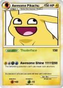 Awesome Pikachu