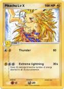 Pikachu Lv X