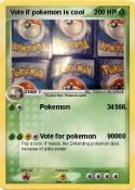 Vote if pokemon