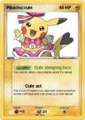 Pikachu:cute