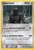 Pokemon Skyrim guard 3
