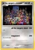 all the rangers