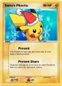 Santa's Pikachu