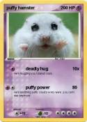 puffy hamster