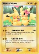 Pikachu's Love