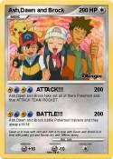 Ash,Dawn and