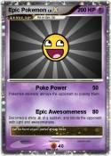 Epic Pokemon