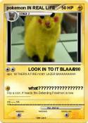 pokemon IN REAL