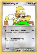 Homer Eating JB