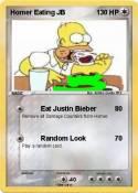 Homer Eating JB