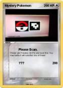 Mystery Pokemon