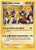Goku, Goten,