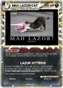 MAH LAZOR!CAT