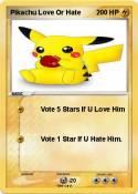 Pikachu Love Or
