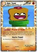 Epic Toast