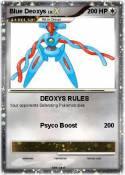 Blue Deoxys