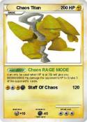 Chaos Titan