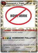 Homework =