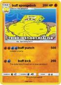 buff spongebob