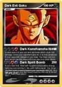 Dark Evil Goku