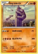 king sloth EX