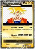 Goku golden